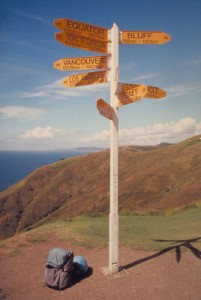 Example of Signposts in the Real World