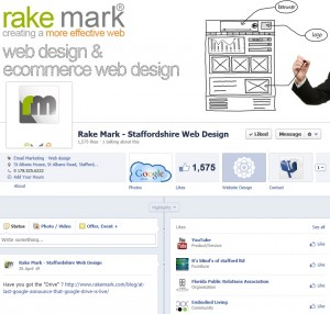 Web Design & Social Media Facebook