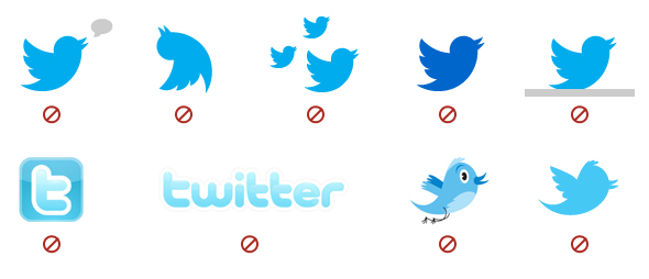 Twitter has new logo Guidelines