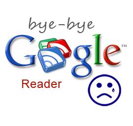 bye bye Google Reader